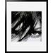 Atelier Contemporain Visage Du Monde 05 by Vidal Framed Graphic Art