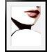 Atelier Contemporain Visage Du Monde 06 by Vidal Framed Graphic Art