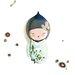 Atelier Contemporain Fuyuko by Sophie Griotto Art Print on Canvas
