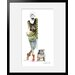 Atelier Contemporain London Girl and Dog by Sophie Griotto Framed Graphic Art