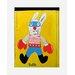 Atelier Contemporain Super Rabbit by Paratilla Framed Art Print
