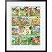 Atelier Contemporain Asterix Aux Jo by Uderzo Framed Graphic Art
