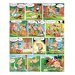 Atelier Contemporain Asterix Aux Jo by Uderzo Graphic Art Wrapped on Canvas in Green