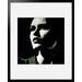 Atelier Contemporain Visage Du Monde 08 by Vidal Framed Graphic Art