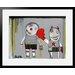 Atelier Contemporain Bang Bang by Paratilla Framed Art Print