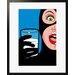 Atelier Contemporain Milky Cat by Léon Framed Graphic Art
