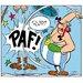 Atelier Contemporain Paf! Obelix by Uderzo Graphic Art Wrapped on Canvas