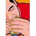 Atelier Contemporain Super Burger by Léon Graphic Art on Canvas