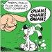 Atelier Contemporain Ouah ! Ouah ! Ouah ! by Uderzo Graphic Art on Canvas