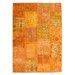 Obsession Handgefertigter Teppich Atlas in Orange