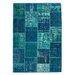 Obsession Handgefertigter Teppich Atlas in Blau