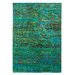 Obsession Handgefertigter Teppich Maharani in Grün/ Blau/ Bunt