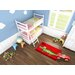 Obsession Handgefertigter Kinderteppich Inspire Kids in Rot