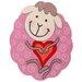Obsession Handgefertigter Kinderteppich Inspire Kids in Pink