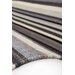 Obsession Handgefertigter Teppich Kilim in Grau