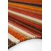 Obsession Handgefertigter Teppich Kilim in Terra