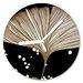 I-like-Paper Analoge Wanduhr Ginko 13 cm