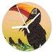 I-like-Paper Analoge Wanduhr Schnabelvogel 26 cm