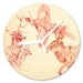 I-like-Paper Analoge Wanduhr Animals 13 cm