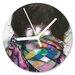 I-like-Paper Analoge Wanduhr Rainbow Warrior 13 cm