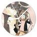 I-like-Paper Analoge Wanduhr Lost 13 cm