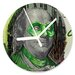 I-like-Paper Analoge Wanduhr Greenhundred 13 cm