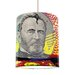 I-like-Paper 20 cm Lampenschirm Man of Paper aus Tyvek