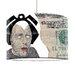I-like-Paper 40 cm Lampenschirm Wind aus Tyvek