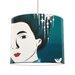 I-like-Paper 30 cm Lampenschirm Geisha aus Tyvek
