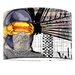 I-like-Paper 40 cm Lampenschirm Zyklop aus Tyvek