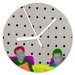 I-like-Paper Analoge Wanduhr My Eyes are The Points 13 cm