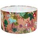 Gillian Arnold 45cm Tropical Fabric Drum Lamp Shade
