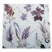 Gillian Arnold Winter Flourish 4 Piece Glass Coaster Set