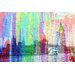 Andrew Lee London Rainbow Bridge Graphic Art Wrapped on Canvas
