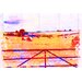 Andrew Lee Countryside Hay Bale Vibe Graphic Art Wrapped on Canvas