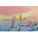Andrew Lee London Skyline Graphic Art Wrapped on Canvas