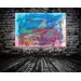 Andrew Lee French Below the Tower by Andrew Lee Art Print Wrapped on Canvas