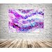 Andrew Lee Countryside Pink Wilderness Graphic Art Wrapped on Canvas