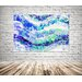 Andrew Lee Countryside Blue Wilderness by Andrew Lee Graphic Art on Canvas