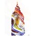 Andrew Lee London Swirly Ben Graphic Art Wrapped on Canvas