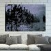 Andrew Lee 'Gold Star Tree Line' by Andrew Lee Graphic Art Wrapped on Canvas