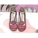 """Andrew Lee Fashion """"Lips Shoes"""" by Andrew Lee Art Print Wrapped on Canvas"""