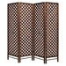 Geese 178cm x 175cm Screen with Hole 4 Panel Room Divider
