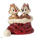 Disney Traditions Holly Jolly Christmas Chip 'n' Dale Figurine