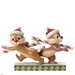 Disney Traditions Candy Cane Caper Chip and Dale Figurine