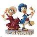 Disney Traditions Victorian Donald Daisy Duck Figurine
