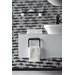 Bisk Futura Glass Wall Mounted Toilet Brush Holder