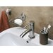 Bisk Virginia Glass Wall Mounted Toilet Brush Holder