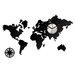 ModernClock Analoge Wanduhr World XXL