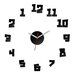 ModernClock Analoge Wanduhr Crazy Clock 50 cm